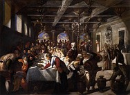 Jacopo Tintoretto - Marriage at Cana, 1561