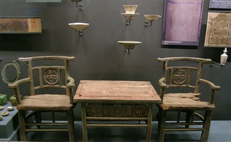 Furniture antiques from the Chinese Liao dynasty