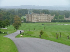 View towards Longleat House