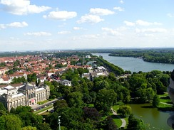 Maschsee seen from the new city hall