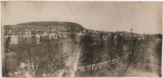 McGill University and Mount Royal, 1906, Panoramic Photo Company