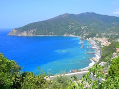 A view of Moneglia