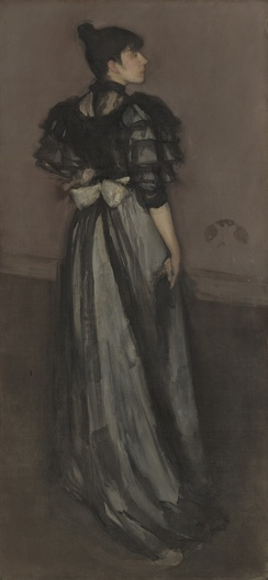 Mother of Pearl and Silver: The Andalusian (1888–1900), National Gallery of Art, Washington, D.C.[83] (Model: Ethel Whibley)