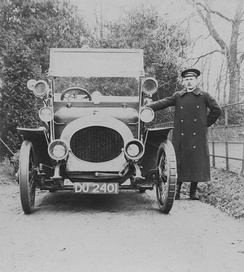 12/18 c. 1910and chauffeur for William Beveridge