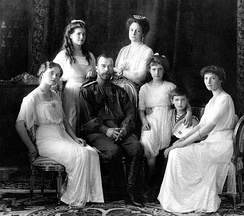 Emperor Nicholas II of Russia and his family were murdered by the Bolsheviks in 1918