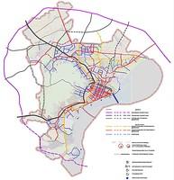 Схема городских магистралей Саратова