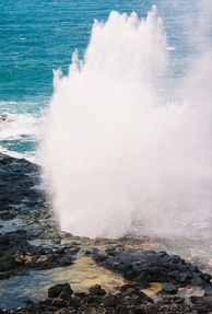 The Spouting Horn: located on the southern coast of Kauaʻi