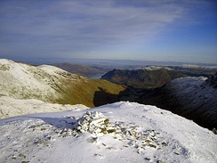 The Tongue Valley (looking from Dollywaggon Pike)