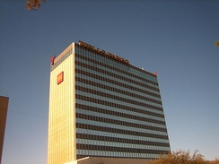 The Wells Fargo Building is the second-tallest building in Lubbock.