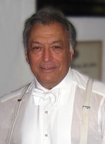 Zubin Mehta, musician and receiver of a star on the Hollywood Walk of Fame