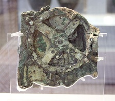 Antikythera mechanism, National Archaeological Museum, Athens