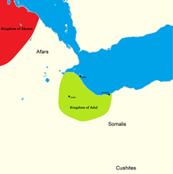 Approximate extension of the Kingdom of Adal