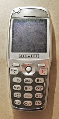 Alcatel One Touch 535, front side (introduced July 2003)
