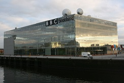 BBC Pacific Quay in Glasgow, which was opened in 2007