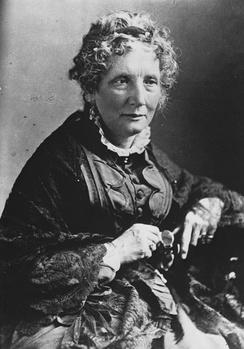 Harriet Beecher Stowe wrote Victorian fiction outside Victoria's domains.