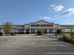 a closed Sears outlet