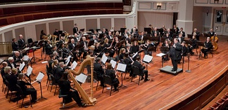 A full concert band—Indiana Wind Symphony in concert, 2014