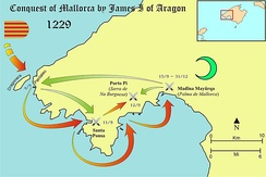 Conquest of Majorca by James I of Aragon (1229)