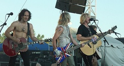 Def Leppard performing in Minot, North Dakota, US, on 26 July 2007