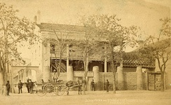 The Deseret Store, home of the Deseret News from 1851-1854 and 1862-1903