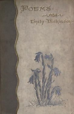 Cover of the first edition of Poems, published in 1890