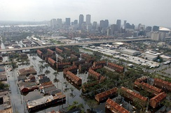 Hurricane Katrina caused over $80 billion of storm and flood damage