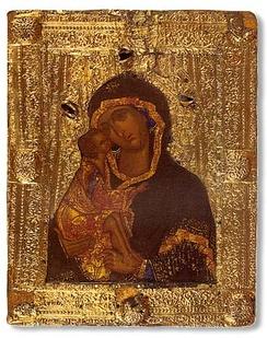 Список Донской иконы из Троице-Сергиевой лавры