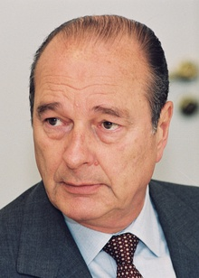 Jacques Chirac in 1997