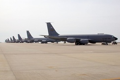 459th ARW KC-135Rs at Andrews AFB in 2004.