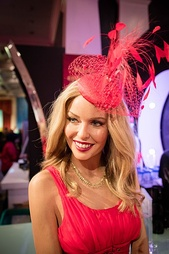 Wax statue of Minogue at Madame Tussauds in London
