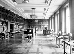 The Reading Room of the London School of Hygiene & Tropical Medicine's Library taken in 1929. Image courtesy of the Library & Archives Service of the London School of Hygiene & Tropical Medicine[1]
