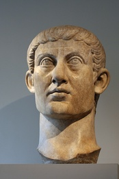 Bust of Emperor Constantine I, the founder of the Constantinian dynasty