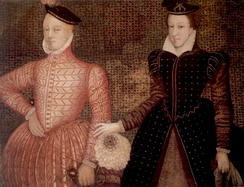 Mary with her second husband, Lord Darnley