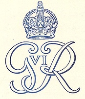 Royal cypher (monogram), 1949