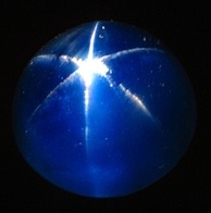 The Star of Asia, a large, 330-carat cabochon-cut star sapphire in the U.S. National Gem Collection