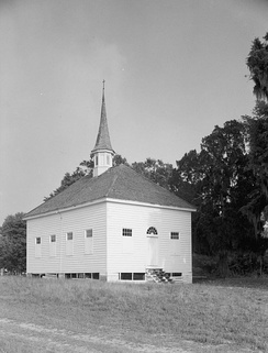 African American Baptist Church, Silver Hill Plantation, Georgetown County, South Carolina