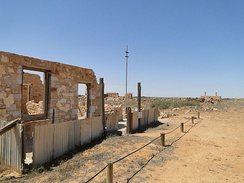 After years of drought and dust storms, the town of Farina in South Australia was abandoned.