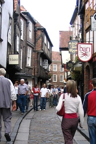 The Shambles in York, England