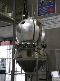 Replica of the Vostok capsule