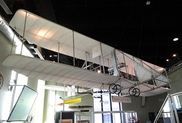 A 1911 Wright Brothers Model B flyer.