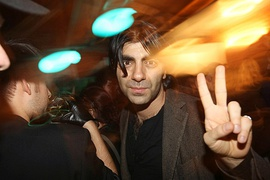 Fatih Akin at a TIFF party (2009)