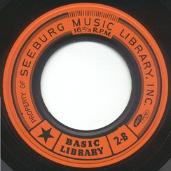 1959 Seeburg 16 rpm record
