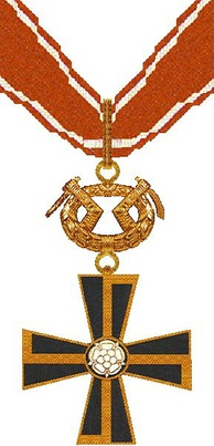 The I class of the Mannerheim Cross of the Order of the Cross of Liberty from 1941