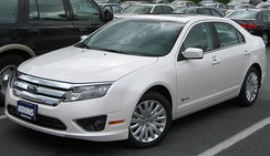 The 2010 Ford Fusion Hybrid was launched in the U.S. in March 2009.[60]