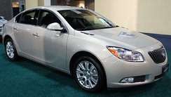 2012 Buick Regal with optional eAssist hybrid system