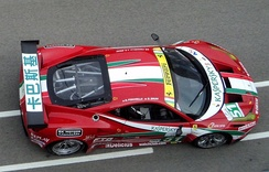 AF Corse's Ferrari F458 Italia GT2 at Zhuhai International Circuit.