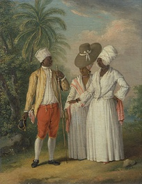 Free West Indian Dominicans, c. 1770