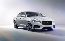 All-New Jaguar XF Revealed in Dramatic 'High-Wire' Journey (16737709379) (cropped).jpg