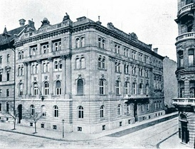 Chamber of Commerce and Industry of Budapest, beginning of the 20th century