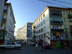 Blocks of flats in central Cluj-Napoca